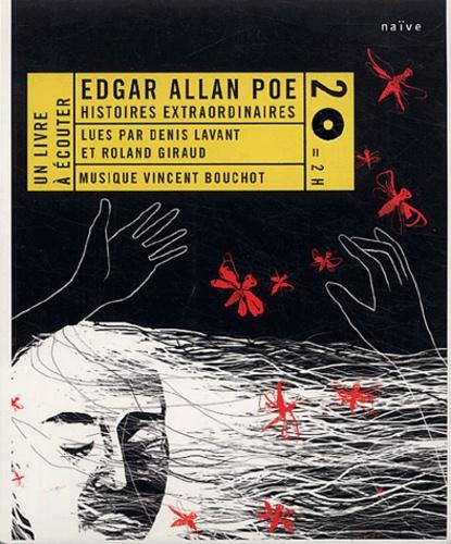 Edgar Allan Poe - Histoires extraordinaires. 2 CD audio