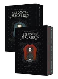 Edgar Allan Poe et Benjamin Lacombe - Les contes macabres  : Coffret en 2 volumes : Tomes 1 et 2.