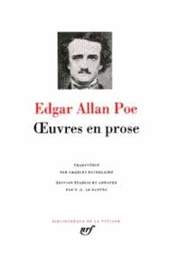 Ebooks for j2me téléchargement gratuit Oeuvres en prose par Edgar Allan Poe 9782070104543