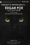 Edgar Allan Poe - Progressez en anglais grâce à Edgar Poe - Le chat noir et six autres histoires extraordinaires.