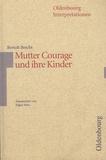 Edgar Hein - Bertolt Brecht, Mutter Courage und ihre Kinder.