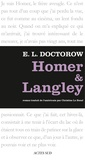 Edgar-Lawrence Doctorow - Homer et Langley.