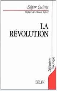 Edgar Quinet - La Révolution.
