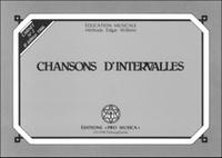 Edgar Willems - Chansons d'intervalles - Carnet n° 2.