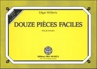 Edgar Willems - Douze pièces faciles pour piano - Carnet n° 8.