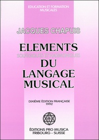 Edgar Willems - Eléments solfégiques et harmoniques du langage musical.