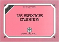 Edgar Willems - Les exercices d'audition - Carnet n° 3.