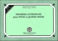 Edgar Willems - Première littérature pour piano à quatre mains - Carnet n° 7B.