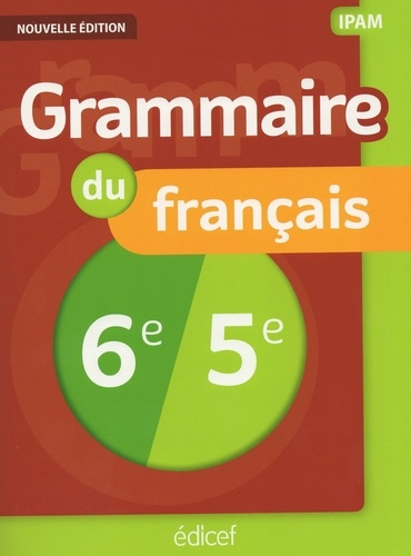 Francais Grammaire 6e 5e