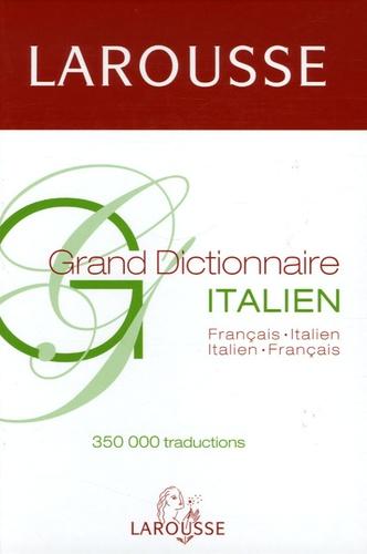 Edigeo et Céline Bitour - Grand Dictionnaire Français-Italien Italien Français.