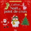 Edigo - Coffret Noël au point de croix - 2 livres + kits de point de croix.