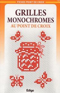 Edigo - Grilles monochromes au point de croix.