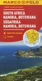 Marco Polo - Afrique du Sud, Namibie, Botswana - 1/2 000 000.