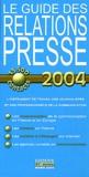 Edinove - Guide des Relations Presse.