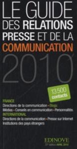 Edinove - Le guide de la relation presse et de la communication 2010.