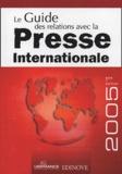 Edinove - Le Guide des relations avec la Presse Internationale.