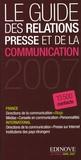 Edinove - Le guide des relations presse et de la communication 2007.