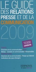 Edinove - Le Guide des relations presse et de la communication 2009.