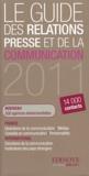 Edinove - Le guide des relations presse et de la communication 2011.