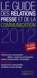 Edinove - Le guide des relations presse et de la communication 2012.
