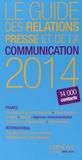 Edinove - Le guide des relations presse et de la communication 2014.