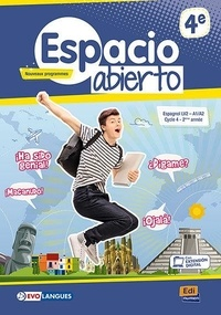 Edinumen - Espagnol 4e Espacio Abierto - Livre de l'élève.