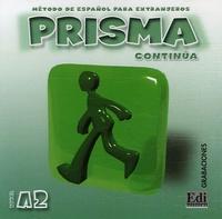 Rhonealpesinfo.fr Prisma Continua Nivel A2 - Método de espanol para extranjeros, CD Audio Image