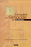 Edipol - L'actualité du génocide des Arméniens - Actes du colloque organisé par le Comité de Défense de la Cause Arménienne à Paris-Sorbonne les 16, 17 et 18 avril 1998.