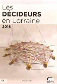 Editève - Les décideurs en Lorraine.