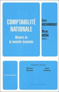 Edith Archambault et Michel Boëda - Comptabilité nationale - Mesure de la nouvelle économie.