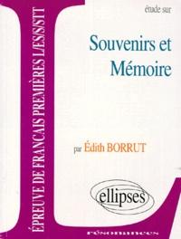Edith Borrue - Étude sur souvenirs et mémoire.