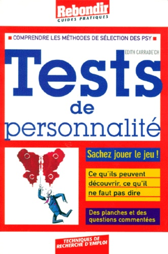 Edith Carrade'ch - Tests de personnalité.