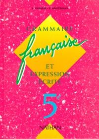 Livre Pdf Francais 5eme Grammaire Francaise Et Expression