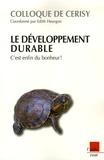 Edith Heurgon - Le développement durable, c'est enfin du bonheur !.