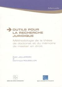 Outils pour la recherche juridique - Méthodologie de la thèse de doctorat et du mémoire de master en droit.pdf