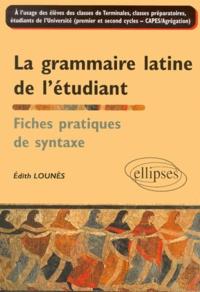 La grammaire latine de létudiant. Fiches pratiques de syntaxe.pdf