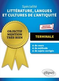 Histoiresdenlire.be Spécialité Littérature, langues et Cultures de l'Antiquité. Terminale. Nouveaux programmes Image