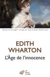 Edith Wharton - L'âge de l'innocence.