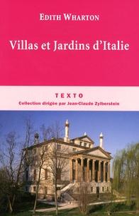 Edith Wharton - Villas et Jardins d'Italie.