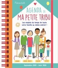 Agenda de ma petite tribu - Les emplois du temps de toute votre famille au même endroit!.pdf
