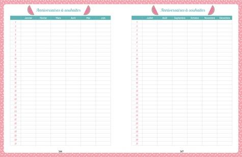 Agenda familial pocket Mémoniak  Edition 2019-2020