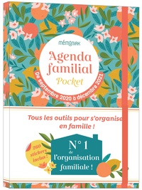 Editions 365 - Agenda familial pocket Mémoniak - Avec 260 stickers.