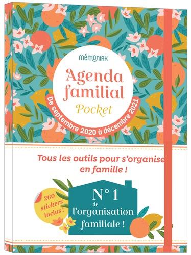 Agenda familial pocket Mémoniak. Avec 260 stickers  Edition 2020-2021