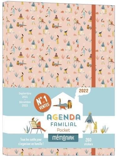 Editions 365 - Agenda familial pocket Mémoniak.