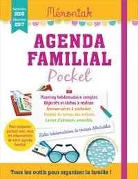 Editions 365 - Agenda familial pocket - Septembre 2016-décembre 2017.