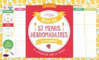 Editions 365 - Bloc de menus à compléter.