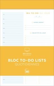 Editions 365 - Bloc de to-do lists quotidiennes.