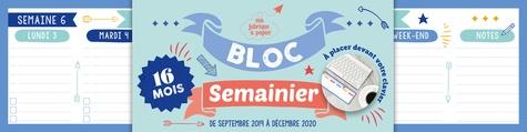 Editions 365 - Bloc semainier à placer devant votre clavier.