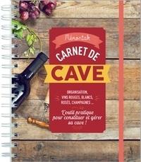 Carnet de cave -  Editions 365 |