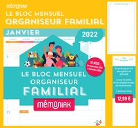 Editions 365 - Le bloc mensuel organiseur.